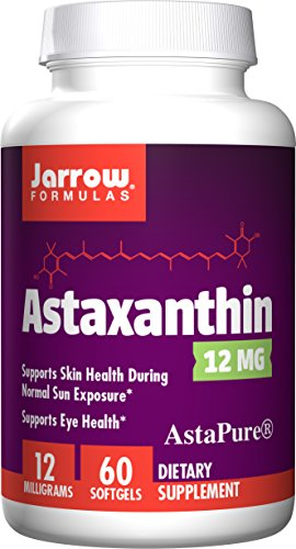 Astaxanthin, 12 mg, 60 Softgels - Jarrow-Formeln