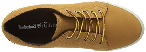 Timberland Flannery Oxfordwheat Nubuck, Sneakers Basses Femme Marron  (Wheat Nubuck)