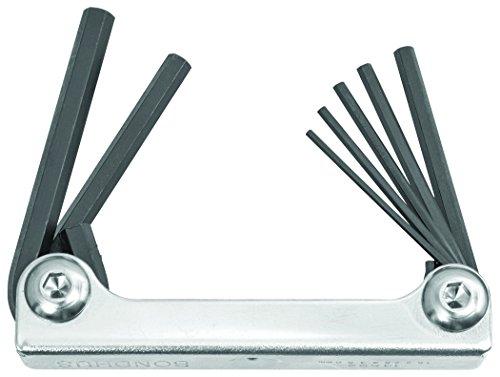 Bondhus 14592Metall Griff Hex Spitze 7Stück Fold bis Werkzeug mit Proguard Finish (Bondhus Gorilla Grip)