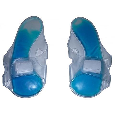 Poche de glace pour les pieds - Deux chaussons chauffants refroidissants mono-taille