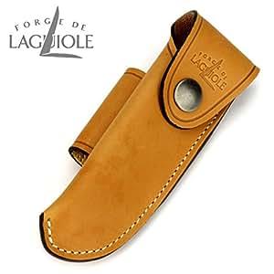 Forge de Laguiole B3F - etui en cuir fauve pour couteaux 11/12 cm de manche