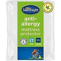 Silentnight Anti Allergy Mattress Protector Plus, White, King