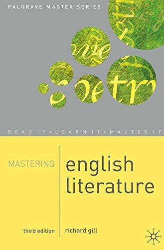 Mastering English Literature (Palgrave Master Series)