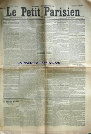 PETIT PARISIEN (LE) [No 5046] du 22/08/1890 - STRA...