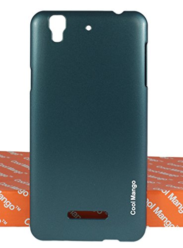 Cool Mango Luxury Hard Back Cover / Case for Micromax Yu Yureka - Sparkling Peacock Green