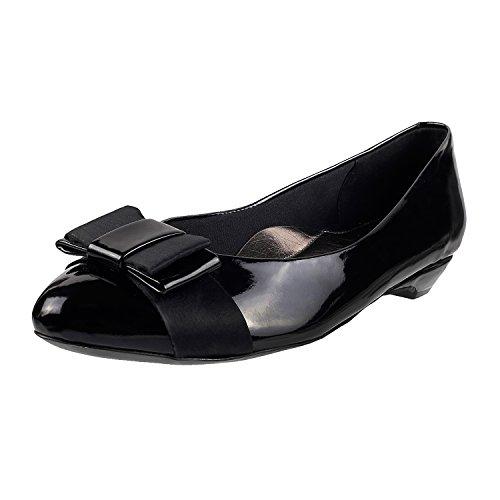 Mochi Women's Black Fashion Sandals-8 UK/India (41 EU)(31-6986-11-41)