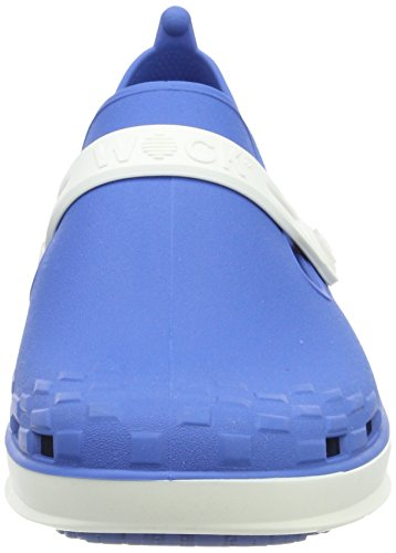 WOCK Nexo, Sabots Mixte Adulte Blau (Medium Blau)