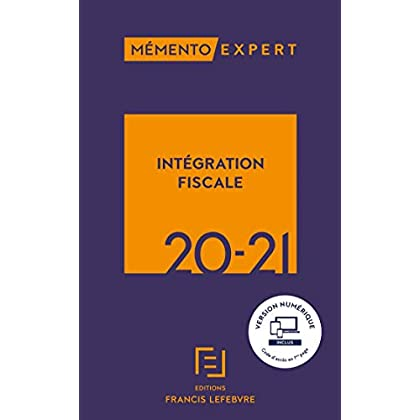 MEMENTO INTEGRATION FISCALE 2020-2021