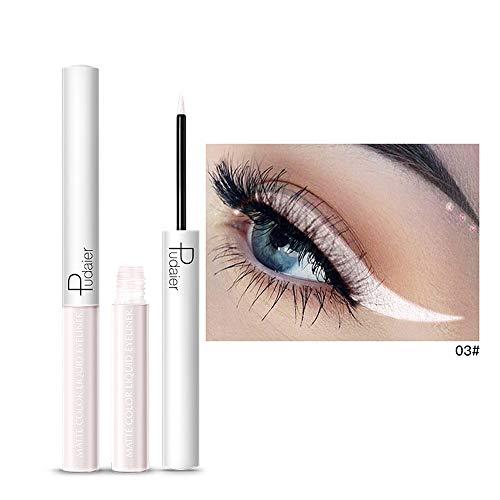 Momoxi Metallic Shiny Smoky Eyes Lidschatten Wasserdichter Glitzer Eyeliner
