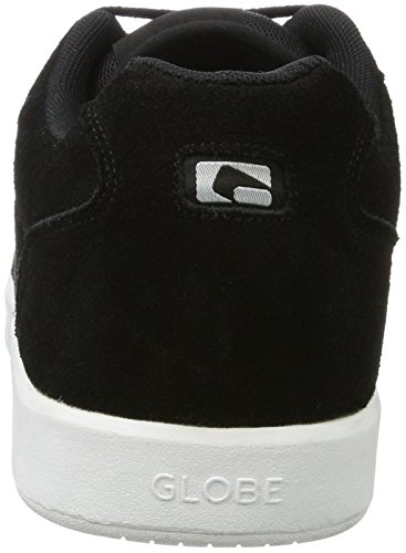 Globe Herren Octave Skateboardschuhe, Schwarz (Black/White)