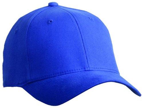 Flexfit ® Fullcap 6 Panel Baseballcap mit geschlossener Rückseite und Elasthananteil in 13 Farben und 2 Grössen ( S/M und L/XL ) royalblau,S/M ( Small/Medium ) für 56/57 cm Kopfumfang royal blau,S-M
