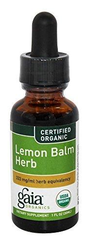 Gaia Herbs - Hierba 30ml del bálsamo del limón - 1 onza. Antes bálsamo del limón