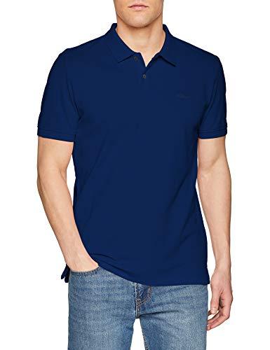 s.Oliver Herren 03.899.35.4586 Poloshirt, Blau (Surf Blue 5639), Large
