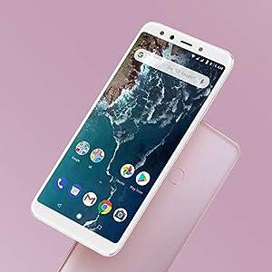 "Xiaomi Mi A2 Smartphones 5.99""Pantalla Full HD 4 GB RAM + 64 GB ROM Snapdragon 660 Octa Core SIM Dual 20MP Frontal + 20MP 12MP Dual Cámara Trasera Móviles Teléfono (Rosa)"