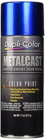 Dupli Color Metalcast Anodized RED Paint - Perfect for spraying alloys