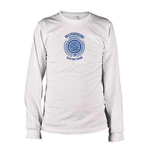 TEXLAB - Waterbending University - Langarm T-Shirt, Herren, Größe L, - Avatar Last Airbender Aang Kostüm