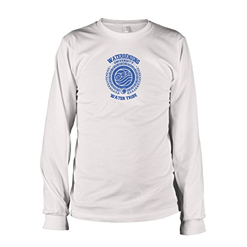 TEXLAB - Waterbending University - Langarm T-Shirt, Herren, Größe S, - Avatar Katara Kostüm