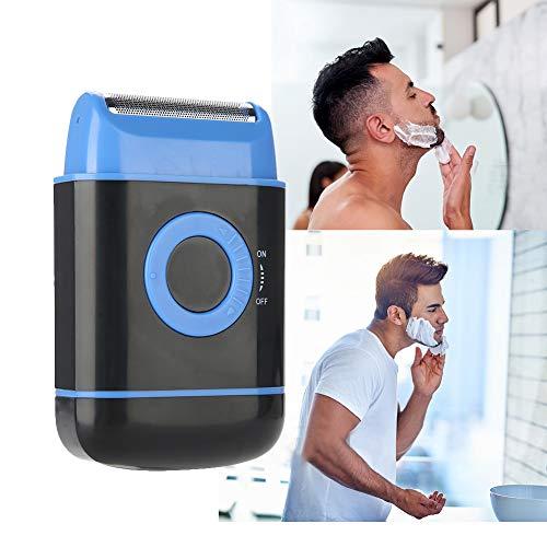 Folienrasierer für Herren, Nass-und Trocken Elektrorasierer für Bart, Wasserdicht Rasierer, Bestes Geschenk für Männer(Blau)