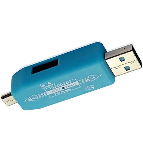 RICH WALKER Intex Cloud Z6 Compatible Card Reader/OTG Kit/OTG Smart
