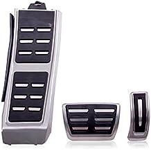 Acero inoxidable Pedal tapas para A4 B8 S4 RS4 A5, S5, RS5 Q3 Q5