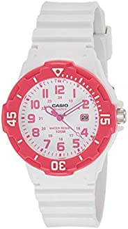Casio Women's White Dial Resin Band Watch - LRW-200