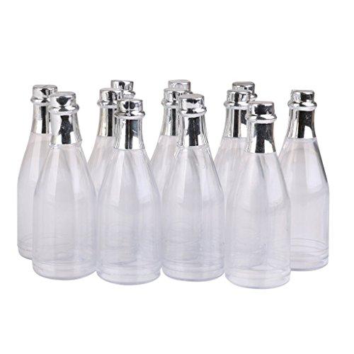 er Flaschen Suessigkeiten Flasche Box Dusche Party Gefaelligkeiten Klar ()