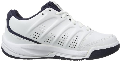 K-Swiss Performance Ultrascendor Omni, Chaussures de tennis mixte enfant Blanc (White/Navy/Silver 167)