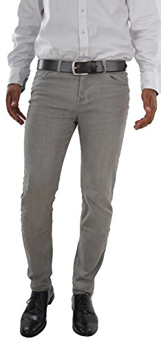 Herren Jeans Hose Slim Fit Jeanshose Super Stretch Herrenhose comfort Slimfit (W28/L30, Grey)