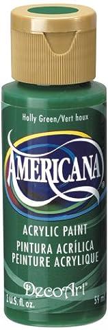 DecoArt Americana Acrylic Multi-Purpose Paint, Holly