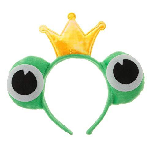 Ohren Haarband Haarreifen Party Kostüm Haarschmuck Tiere Stirnband Headwear Frosch Tier Stirnband Kopfbedeckung Kinderspielzeug