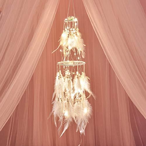 Feixiangge Indische Traum Netz hängen Dekoration Mädchen Heartsen Familie Traum Netzwerk kreative Mädchen Zimmer dekorative Anhänger Le Destin de L'Amour profond Petit