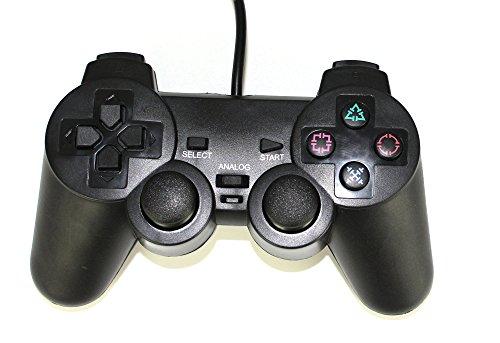 Preisvergleich Produktbild HaoYiShang Dual Wired Game Controller kompatibel für Sony PS2-Konsole Videospiel