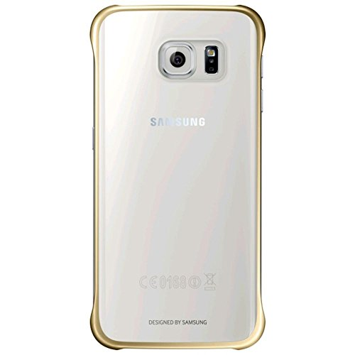 Samsung Coque de Protection Slimline pour Samsung Galaxy S6 - Or Métallisé/Transparent