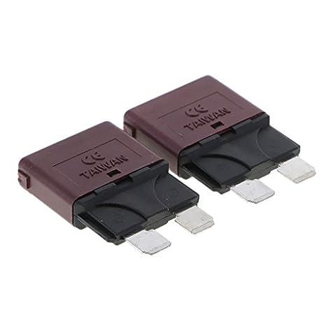 MagiDeal 12V Auto Rückstellbare Mini Klinge Sicherung manuelle Leistungsschalter - 10a
