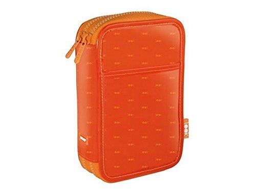 Milan Look 2 Estuches, 19 cm, Naranja