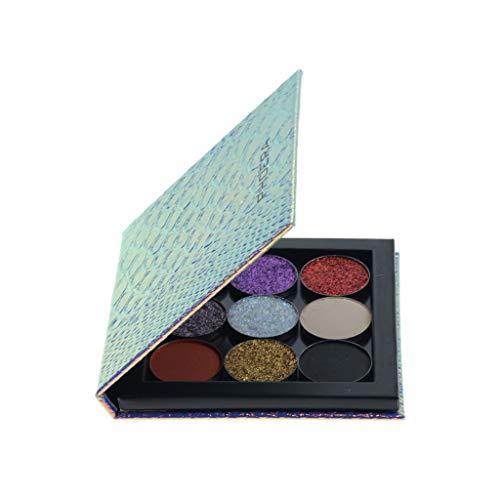 Lidschatten Palette,Leere Magnetische Palette Makeup Palette Pad Leopard Großes Muster DIY Palette...