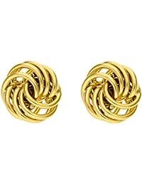 H. Gaventa Ltd E - 10795 - Pendientes de mujer de oro amarillo (9k)