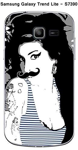 Coque Amy Moustache pour Samsung Galaxy Trend Lite S7390