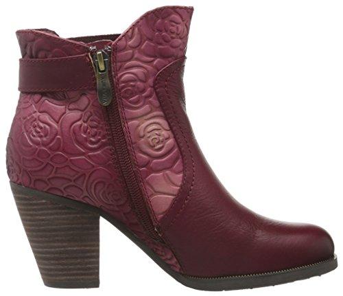 Laura Vita Damen Angelina 05 Chelsea Boots Rot (Wine)