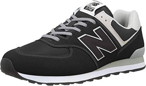 New Balance 574 Core Zapatillas Hombre, Negro Black EGK, 45.5 EU 11 UK