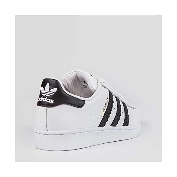 adidas - Superstar Foundation, Senakers a collo basso infantile 3 spesavip