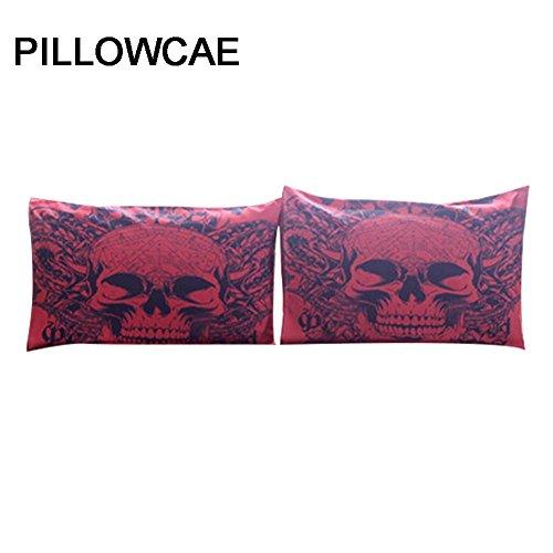 Purebesi 3 Teilig Bettwäsche Sets Tagesdecke Bettbezug Kopfkissenbezug Kissenbezug Dekorative Gedruckt Dekor Kissen Fall (Gedruckt Kissenbezug Set)