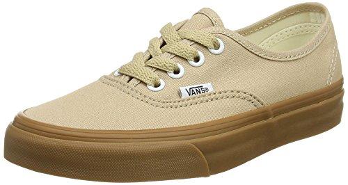 Beige 34.5 EU Vans Authentic Sneaker UnisexAdulto Sesame/Gum Qa2 2k9