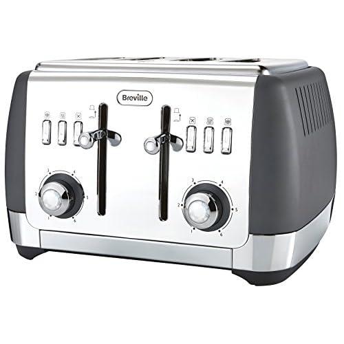 41uDkoDBBnL. SS500  - Breville Strata 4 Slice Toaster - Grey