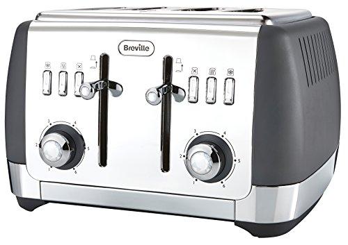 Breville Strata 4 Slice Toaster – Grey