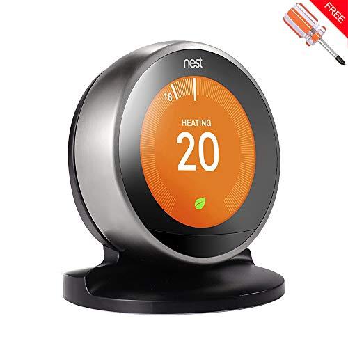 Soporte para termostato de aprendizaje de nido, de tercera generación, de lujo,...