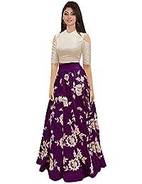 a54b43d66d Amazon.in: Purples - Lehenga Cholis / Ethnic Wear: Clothing ...