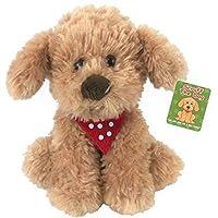 SCRUFF THE DOG Plush 20cm, Scruffs The Cockapoo, Puppy Dog With Polka Dot neckerchief.NEWBORN