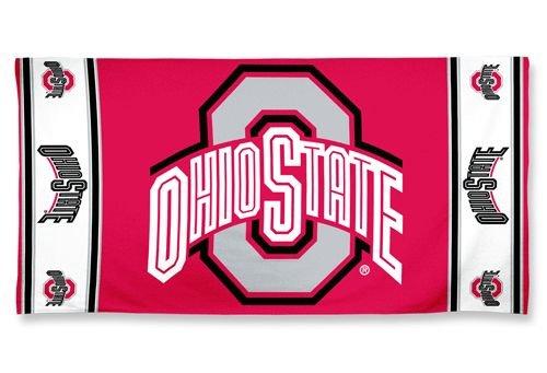 NCAA Ohio State Buckeyes Beach Towel, Team Color, One Size