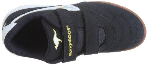 KangaROOS Ludo 11043, Scarpe sportive unisex bambino Blu (Blau (navy/wht/yellow 407))